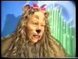 the cowardly lion costume conservation