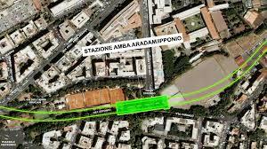 Rome Metro Line C – Amba Aradam Station – Coding