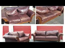 easy leather couch repair you