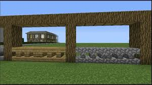 Minecraft Creative Tips Tricks Number 6 Balcony Railing Etc Youtube