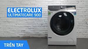 Trên tay máy giặt Electrolux UltimateCare 900 - YouTube