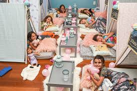 This Charlotte Party Service Sets Up An Instagrammable Campground In Your Living Room For Kids Slumber Parties Starting At 150 Charlotte Agenda