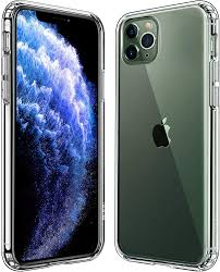 Amazon.com: Mkeke Compatible with iPhone 11 Pro Max Case, Clear iPhone 11  Pro Max Cover Shock Absorption Phone Cases 6.5 inch: Electronics