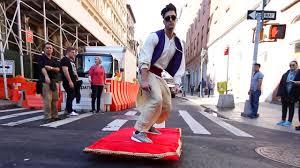 aladdin magic carpet prank you