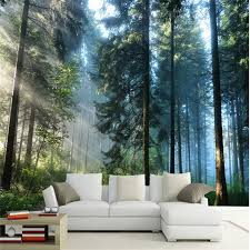 Beibehang Custom Painting Living Room Natural Forest Wall Art Photo Background Photography Bedroom Murals 3d Wallpaper 3d Wallpaper Mural 3d Wallpaperbedroom Mural Aliexpress