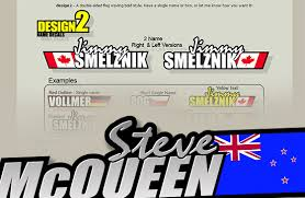 Oople Two New Name Decal Designs Now Online News Petitrc Rc Car Website Leader In France Since 1998