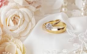 تحميل خلفيات خواتم الزفاف الزفاف المفاهيم خواتم الذهب الورود