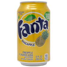 fanta pineapple can 355ml single