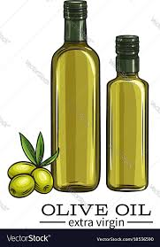 olive oil royalty free vector image