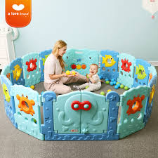20pcs Large Playground Baby Play Fence Child Safety Indoor Family Safe Playground Toddler Bar Game Protective Guardrail Toy Baby Playpens Aliexpress