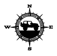 Vinyl Decal For Wranglers Car Decal Compass Decal Explorer Etsy Jeep Tattoo Wrangler Car Jeep Stickers