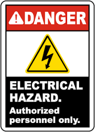 Electrical Hazard Signs Osha Ansi Compliant Electrical Signs