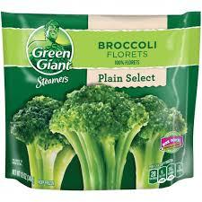 select broccoli florets steamers 12 oz bag