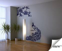 Peacock Wall Decals Vinyl Stickers Home Decor By Homewall 62 00 Vinyl Wall Decals Wall Decals Home Decor