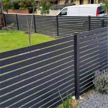 China Australia Aluminium Slat Fence Panel Horizontal Slat Fencing Aluminum Slat Fence With Gate China Fence Panel Fencing