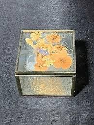 etched glass jewelry trinket box