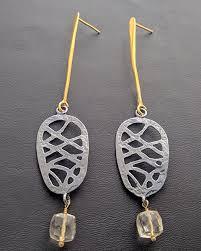 es 200 es 200 earrings with stones