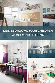 18 Gorgeous Rooms Any Kid Would Love To Share With A Sibling Curbly