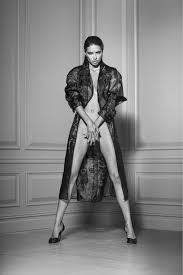 Russell James: Adriana in Trench Coat - CAMERA WORK