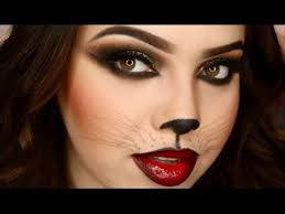 cat makeup tutorials for halloween