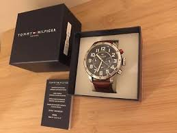 tommy hilfiger watch boxed for men