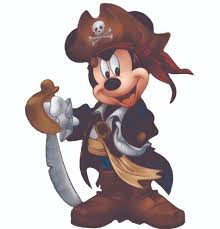 Design With Vinyl Pirate Mickey Mouse Disney Cartoon Customized Wall Decal Wayfair