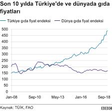 Gıda enflasyonu: Türkiye'de evde yemek yapmak 10 yılda ne kadar ...