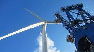 the m of waste wind turbine