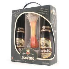 kwak belgian beer gift pack 4x bottles