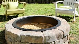 build a diy fire pit in your backyard
