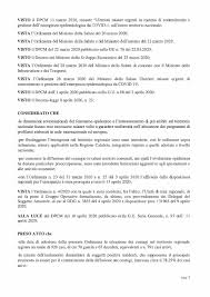 13 aprile 2020-Ordinanza Presidente Giunta Regionale Calabria n. 29