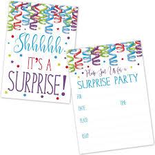 Invitaciones Sorpresa Para Fiestas De Cumpleanos Para N