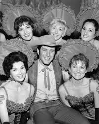 """Robert Fuller in """"Wagon Train"""" (Episode: """"The Myra Marshall Story"""")1963**  I.V. / M.T. - Image 1910_0020   Most iconic images of the 20th century    MPTV Images"""