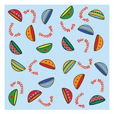 bar mitzvah barmitzvah paper napkins