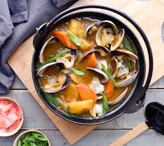 Clam Curry Soup recipe by Christine Ma ...