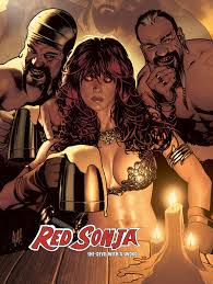 Dynamite® Dynamite Select: Red Sonja Adam Hughes Poster!