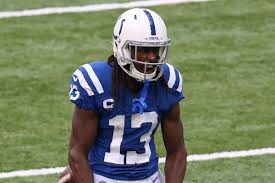 Colts receiver T.Y. Hilton ...