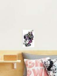 Sakuyamon Digimon Inspired Art Photographic Print By Aderynvalentine Redbubble