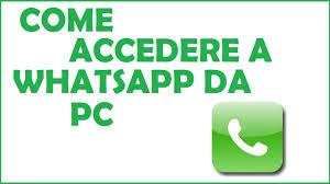whatsapp web come funziona? | come accedere a whatsapp da pc - YouTube