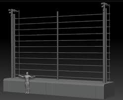 Artstation Jurassic Park Fence Blockout Stefan Koose