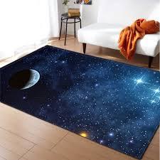 Universe Galaxy Carpet For Living Room Decor Soft Memory Foam Kids Bedroom Play Mat Rug 3d Space Planet Parlor Floor Area Rug Carpet Aliexpress