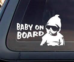 Baby On Board Window Decal Chilangomadrid Com