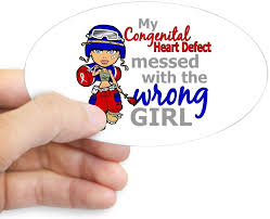 Amazon Com Cafepress Chd Combat Girl 1 Oval Bumper Sticker Euro Oval Car Decal Home Kitchen