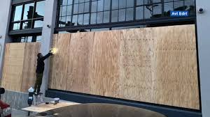 People are on edge right now': San Francisco businesses boarding ...