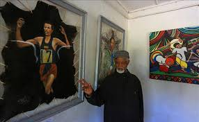 ethiopian painter still going strong at 87
