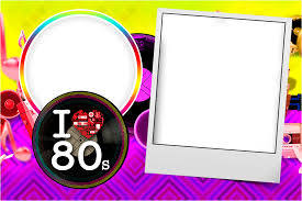 The 80 S Free Printable Invitations Invitaciones Para Imprimir