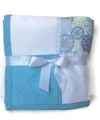 handmade blue baby quilt patchwork