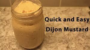 easy homemade dijon mustard you