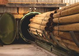 Treated Untreated Round Wood