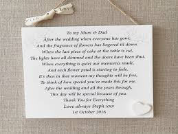mum and dad wedding gifts wedding ideas
